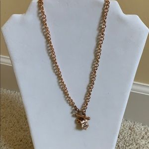 Juicy Couture toggle necklace.